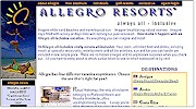 Allegro Resorts Official English Web Site
